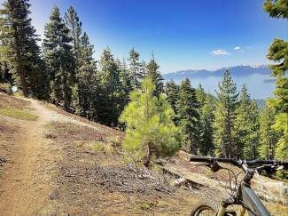 Mountain biking, just one of the many ways to prepare for skiing and snowboarding here in Incline, helps build muscular and cardiovascular endurance and offers some spectacular views in the process.