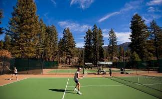 Tennis is a great way to stay active and improve cardiovascular endurance and coordination.