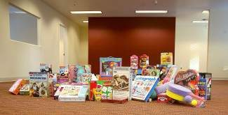 A look at some of the toys that were collected last year for the inaugural Incline Community Toy Drive, which ended up delivering several hundred toys for Incline Village families.