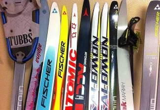 The Tahoe Cross-Country Ski Swap is one of the largest human-powered sports sale in California.