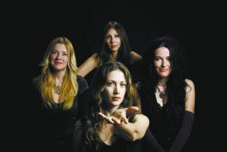 Zepparella is a tribute to Led Zeppelin. The all-female band plays Friday in the Crown Room.