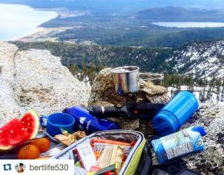 Lunch with a view! Submitted using #TahoeSnaps on Instagram.
