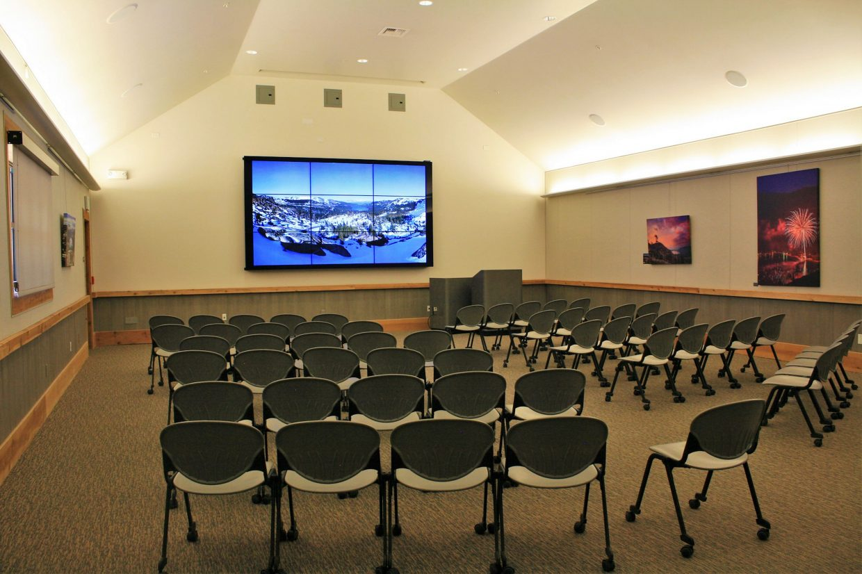 "The visitor center has a film room where the 26-minute feature ""The Longest Winter: The Donner Party Story"" is shown every hour."