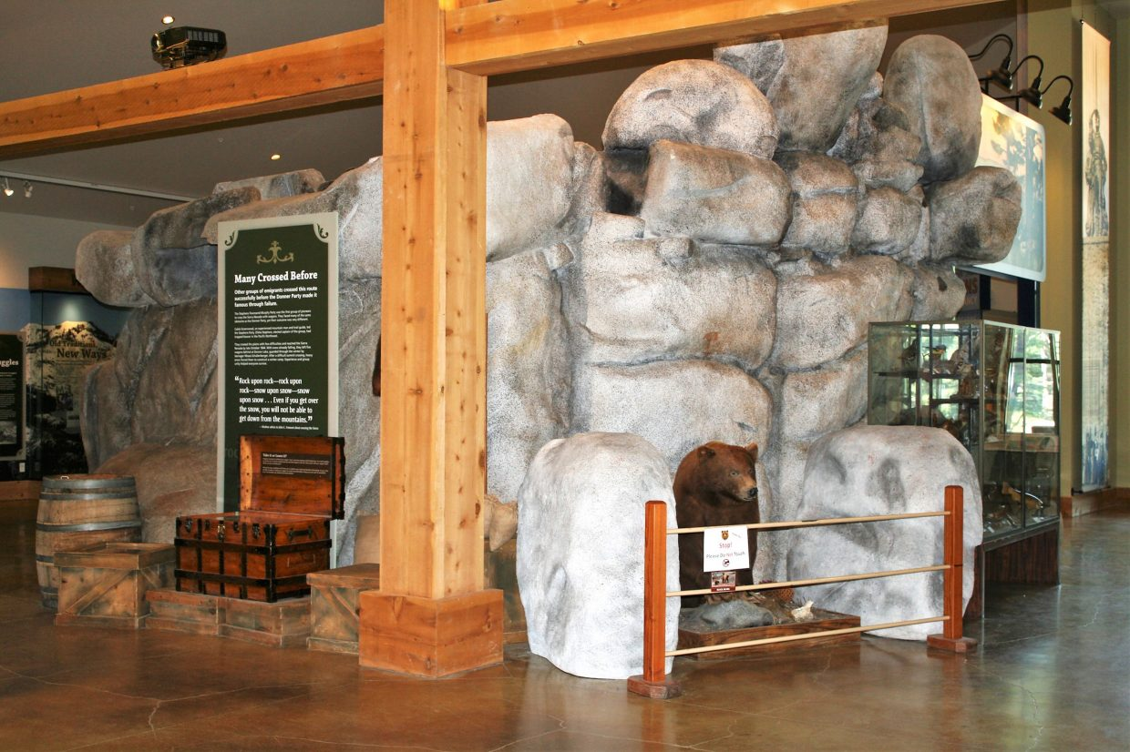 The Donner Memorial State Park Visitor Center is open 10 a.m. to 5 p.m. Monday-Sunday, except Thanksgiving, Christmas and New Year's Day.