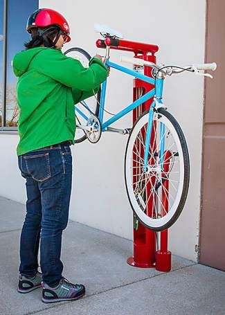 Eagle Scout Project For Snc Tahoe Bike Repair Station Seeks
