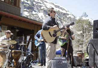 Joaquin & The Love Lights performed at Saturday's Tahoe Truckee Earth Day celebration in the Village at Squaw Valley.