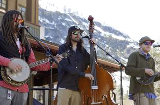 The Kitchen Dwellers also performed at Saturday's Tahoe Truckee Earth Day celebration.