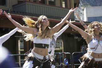 The Reno World Dance Collective also performed at the Earth Day celebration.