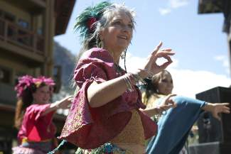 The Asha Dancers have been performing at Tahoe Truckee Earth Day Celebration in Squaw Valley for several years.