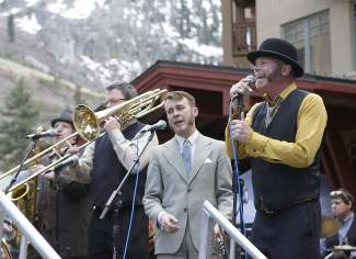 Earles of Newtown also performed at Saturday's Earth Day celebration at Squaw Valley.