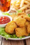 Parents should avoid items like chicken nuggets, fries and sugary soda when feeding children.