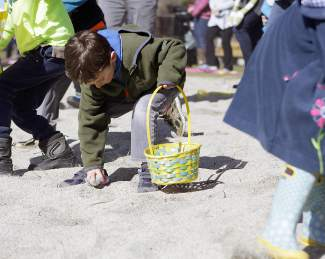 Saturday's Spring Eggstravaganza was hosted by the Parks and Recreation Department of the Tahoe City Public Utility District.