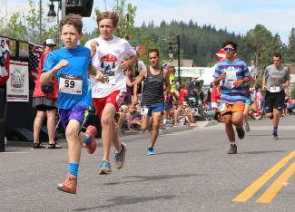 The Firecracker Mile draws participants of all ages to downtown Truckee.