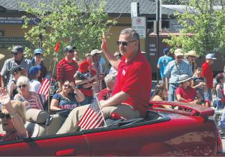 Rob Leri, Tahoe Truckee Unified School District Superintendent, was the parade's Grand Marshal.