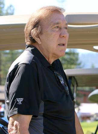 Former Oakland Raiders head coach Tom Flores is a regular at the Gene Upshaw Memorial Golf Classic.