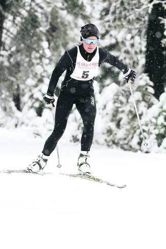 Truckee's Katerina Nash races to a first-place finish among women and seventh place overall in the Great Ski Race. Find a photo gallery from the race at macbethgraphics.com.