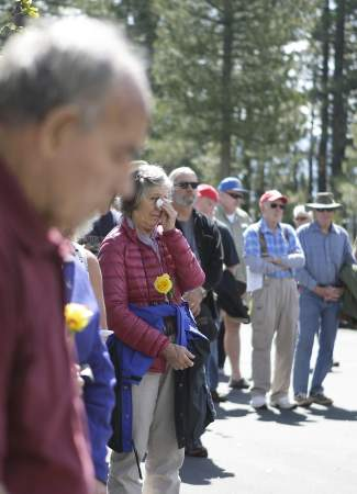 Of those attending Truckee's Memorial Day ceremony, a few could be seen wiping their eyes.
