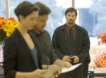 """Rebecca Hall, from left, Jason Bateman and Joel Edgerton in a scene from the film, """"The Gift."""""""