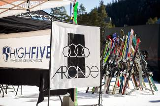 The Mothership Classic was presented by Arcade Belts and the High Fives Foundation on March 27 at Alpine Meadows.