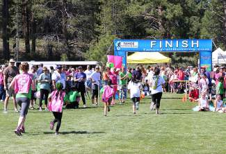 The Truckee Running Festival at River View Sports Park included a 5K, 10K and half marathon.