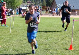 Noah McMahan of Incline Village placed eighth in the 5K run Saturday.