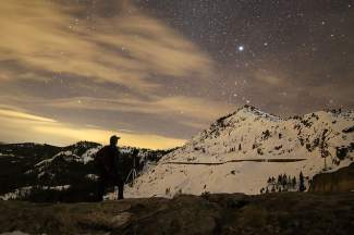 Stargazer: Donner Summit —an ideal location for a little night photography.