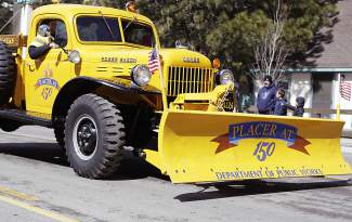 Placer County Department of Public Works was one of several local departments and agencies that were involved in Saturday's parade.