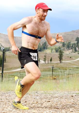 U.S. Nordic Ski Team member Brian Gregg won the 35th Squaw Mountain Run on Saturday with a time of 29:04.1.