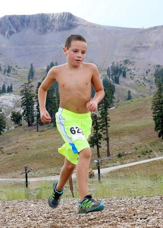 Nine-year-old Noah McMahan from Incline Village.