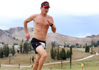 Ross McMahan of Incline Village placed 14th in Saturday's run.