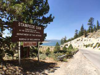 Feds to increase height of Stampede Dam north of Truckee | SierraSun com