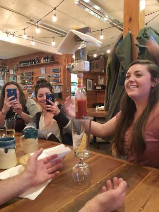 Fun at Sidellis Lake Tahoe Brewery and Restaurant on the South Shore. Submitted using #TahoeSnaps on Instagram.