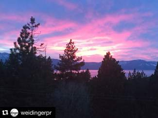 Lake Tahoe speaks for itself. Submitted using #TahoeSnaps on Instagram.
