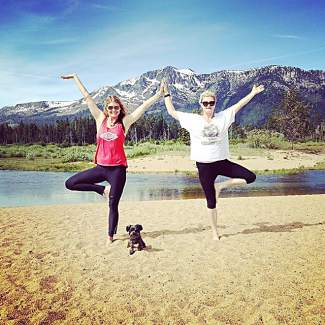 If you are in Tahoe this summer come practice Wednesday mornings 8:30 a.m. with one of the Yoga Trade founders. Submitted using #TahoeSnaps on Instagram.