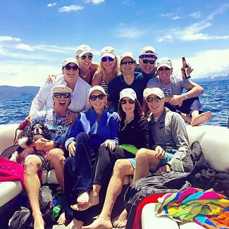 Endless fun with this gang. Submitted using #TahoeSnaps on Instagram.