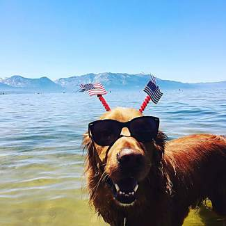 Happy #4thofjuly !!! Have a fun and safe holiday!!! Submitted using #TahoeSnaps on Instagram.
