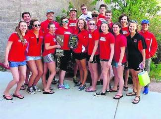 The Truckee High girls swimming team finished second at state last weekend in Las Vegas.