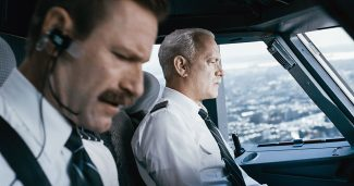 """This image released by Warner Bros. Pictures shows Tom Hanks, right, and Aaron Eckhart in a scene from """"Sully."""""""