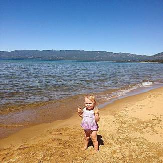 Oh the places she'll go #lifeofemerson. Submitted using #TahoeSnaps on Instagram.