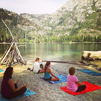 Excited for Wanderlust Tahoe this weekend! If you want to lengthen your Tahoe yoga experience, come check out Kiva Beach Community Yoga. Submitted using #TahoeSnaps on Instagram.