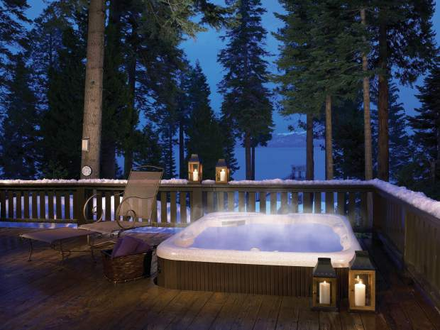 lake tahoe home invest in a hot tub to boost your mountain home s appeal. Black Bedroom Furniture Sets. Home Design Ideas