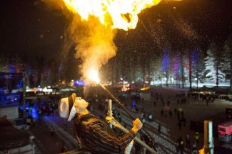 Fire dancers and a torchlight parade will be part of the opening ceremonies on December 17.