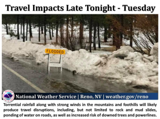 Truckee officials urge caution with flooding, avalanche danger (update)