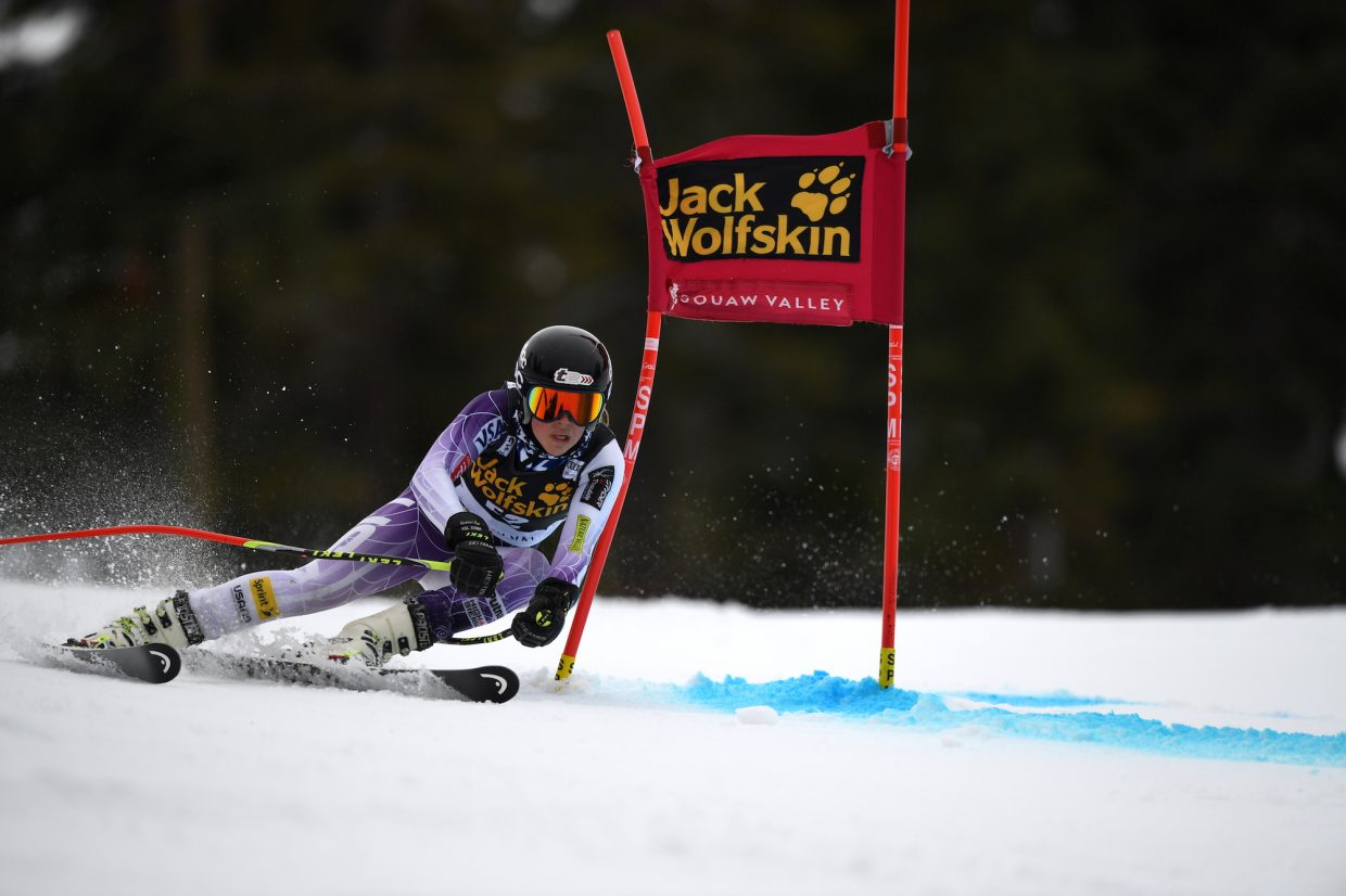AJ Hurt of the Squaw Valley Ski Team was another forerunner.