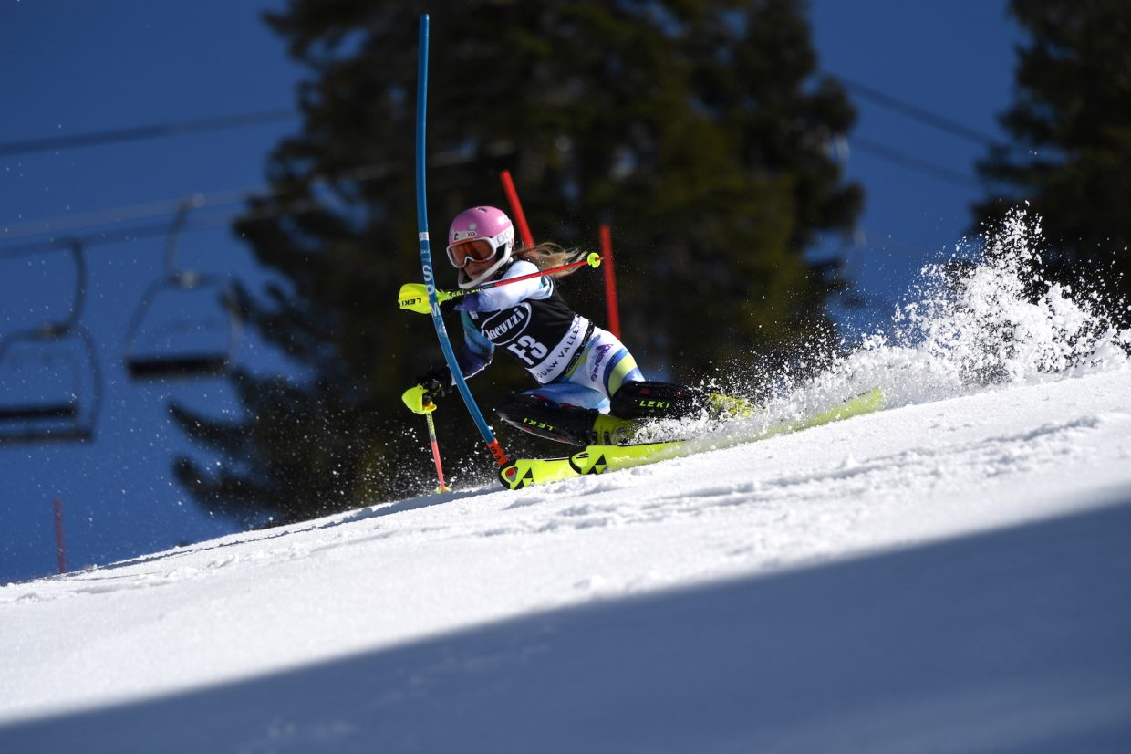 Francesca English, a Squaw Valley athlete.