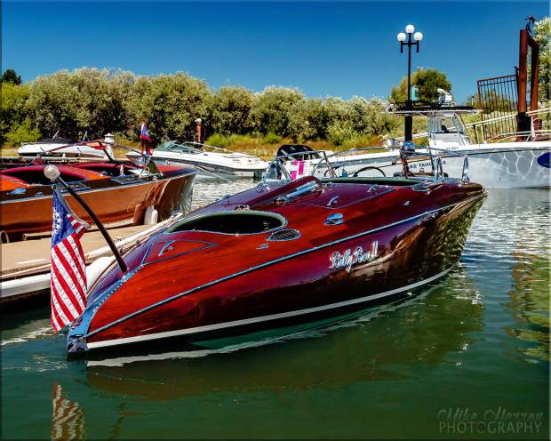 The Northern California/Lake Tahoe Chapter of the Antique and Classic Boat Society hosts the ninth annual South Tahoe Wooden Boat Classic at the Tahoe Keys Marina July 29-30.