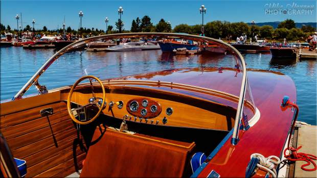According to South Tahoe Wooden Boat Classic show co-chair Lew Dobbins, 85 boats will be displayed in this year's event. Previous years averaged roughly 65 boats.