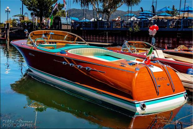 The South Tahoe Wooden Boat Classic begins Friday, July 29, at noon. It continues Saturday, July 30, from 9 a.m. to 5 p.m.