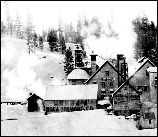 The massive Boca Brewery operation covered more than an acre of land along the Truckee River.
