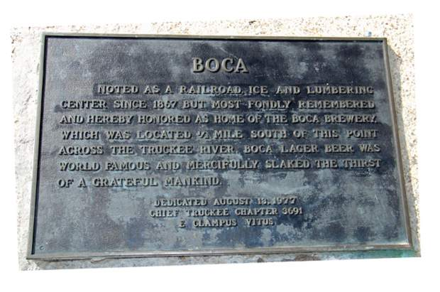 This historic plaque near the site of the Boca Brewery says it all.